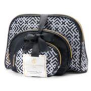 Adrienne Vittadini Studio Cosmetic Bag Trio