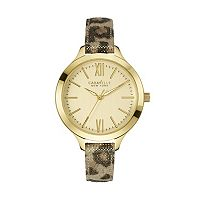 Caravelle New York by Bulova Women's Leather Watch - 44L161