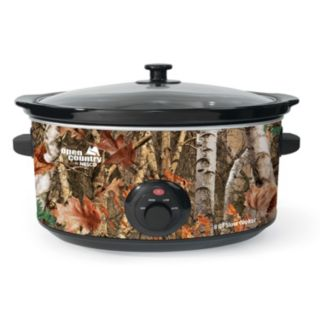 Open Country 8-qt. Camouflage Slow Cooker