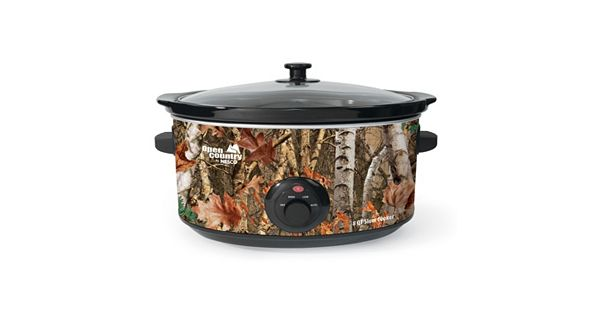 Open Country 8 Qt Camouflage Slow Cooker