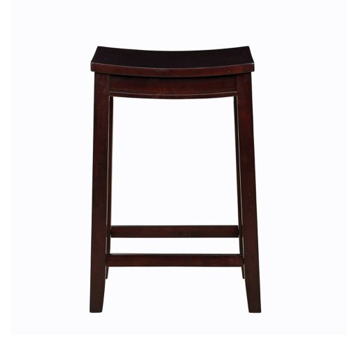 Linon Allure Wood Counter Stool