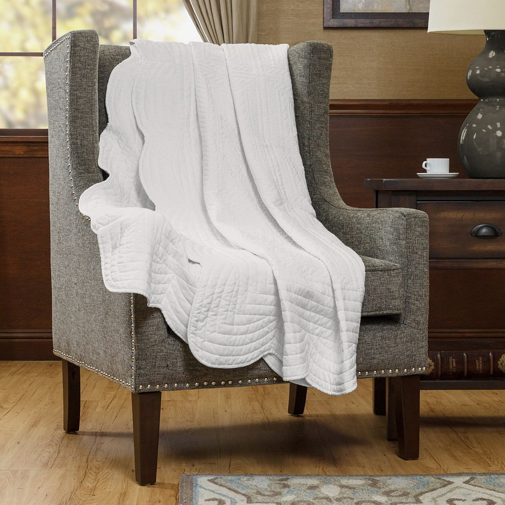 Madison Park Venice Quilted Throw