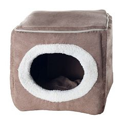 PAW Cozy Cave Enclosed Pet Bed - 12'' x 13.5''