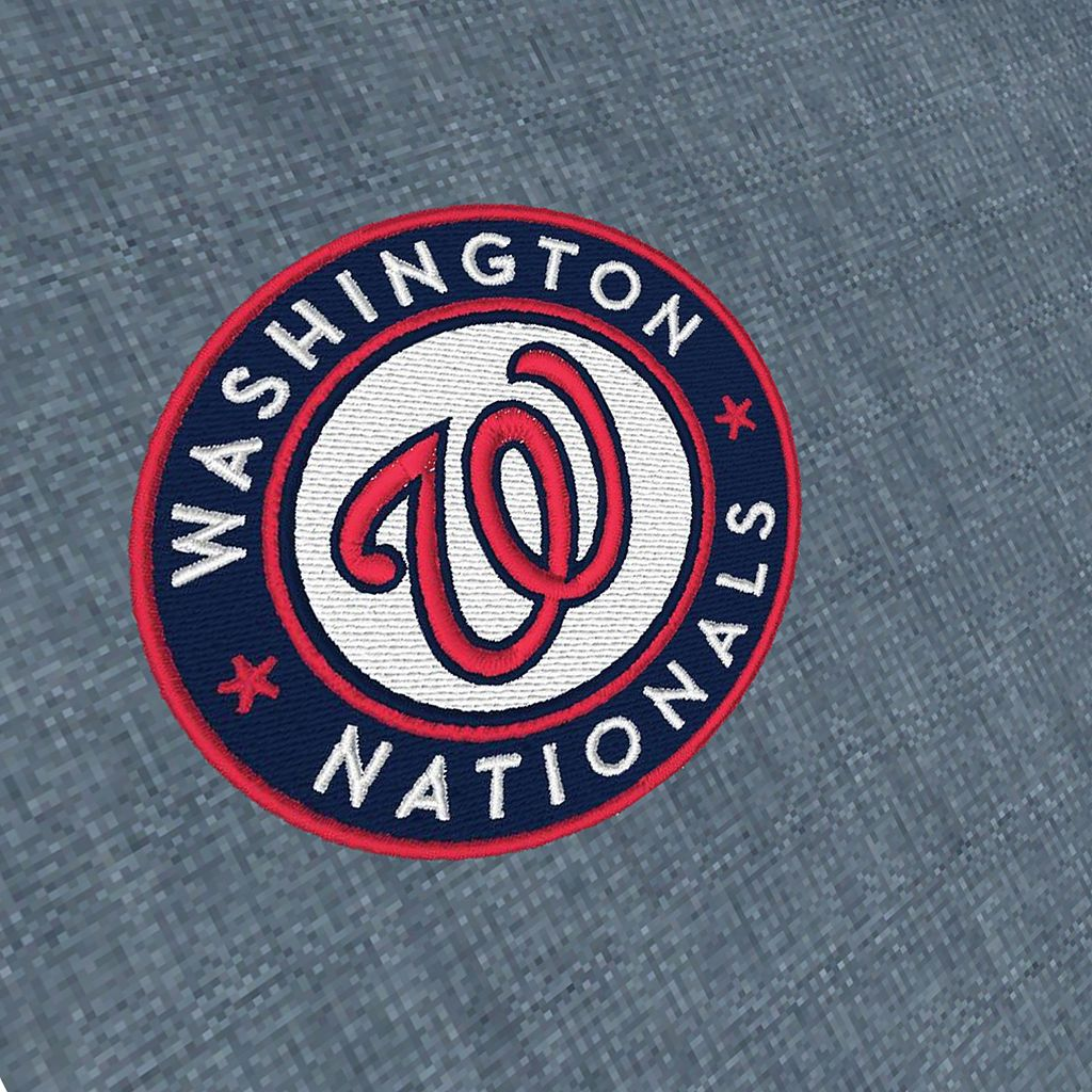 Men's Antigua Washington Nationals Chambray Button-Down Shirt