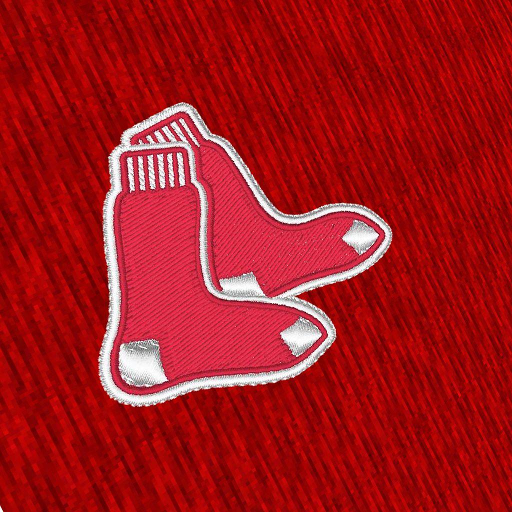 Men's Antigua Boston Red Sox Tempest Desert Dry Xtra-Lite Performance Jacket