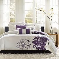 Madison Park Bridgette 6 pc Floral Duvet Cover Set