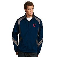 Men's Antigua Cleveland Indians Tempest Desert Dry Xtra-Lite Performance Jacket