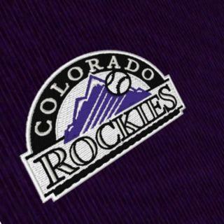 Men's Antigua Colorado Rockies Tempest Desert Dry Xtra-Lite Performance Jacket