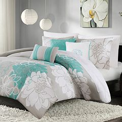 Madison Park Brianna 6-piece Duvet Cover Set