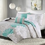 Madison Park Brianna 6-pc. Floral Coverlet Set
