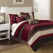 Madison Park Boulder Stripe 7-pc. Comforter Set