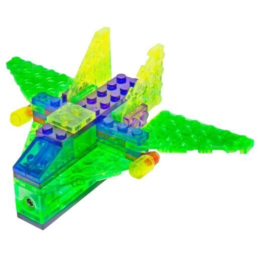 Laser Pegs Aircraft Construction Kit