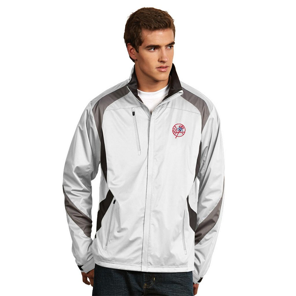 Men's Antigua New York Yankees Tempest Desert Dry Xtra-Lite Performance Jacket