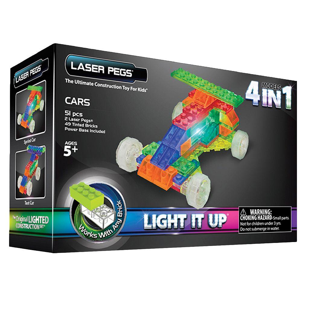 Laser Pegs Cars Construction Kit