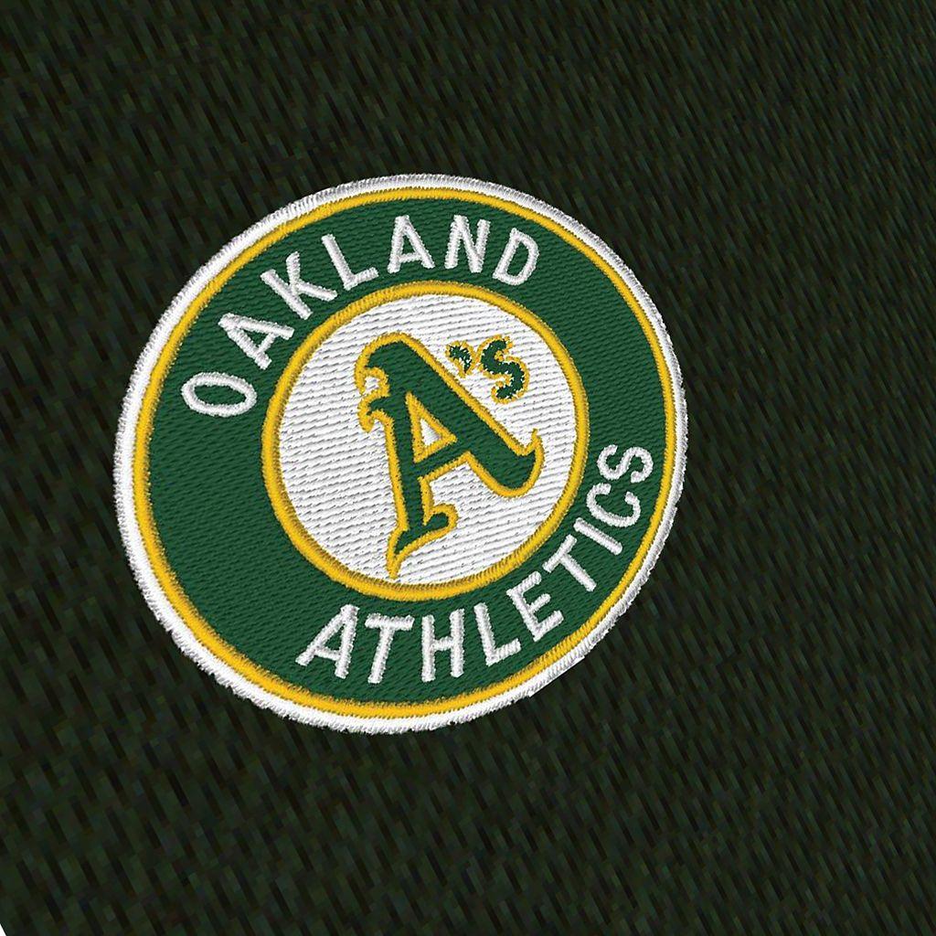 Men's Antigua Oakland Athletics Tempest Desert Dry Xtra-Lite Performance Jacket