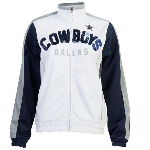 Women s Dallas Cowboys Sideline Track Jacket e8837d2ce