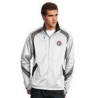 Men's Antigua Texas Rangers Tempest Desert Dry Xtra-Lite Performance Jacket