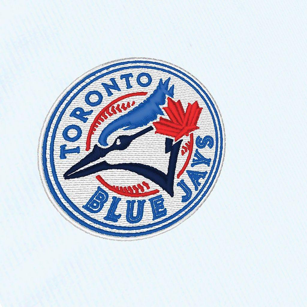 Men's Antigua Toronto Blue Jays Tempest Desert Dry Xtra-Lite Performance Jacket