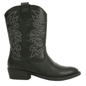 Deer Stags Ranch Kids' Cowboy Boots