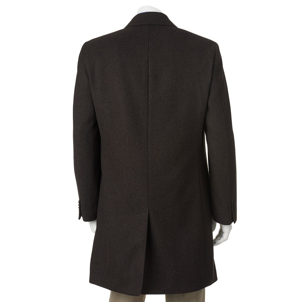 Men's Billy London 38-in. Wool-Blend Overcoat