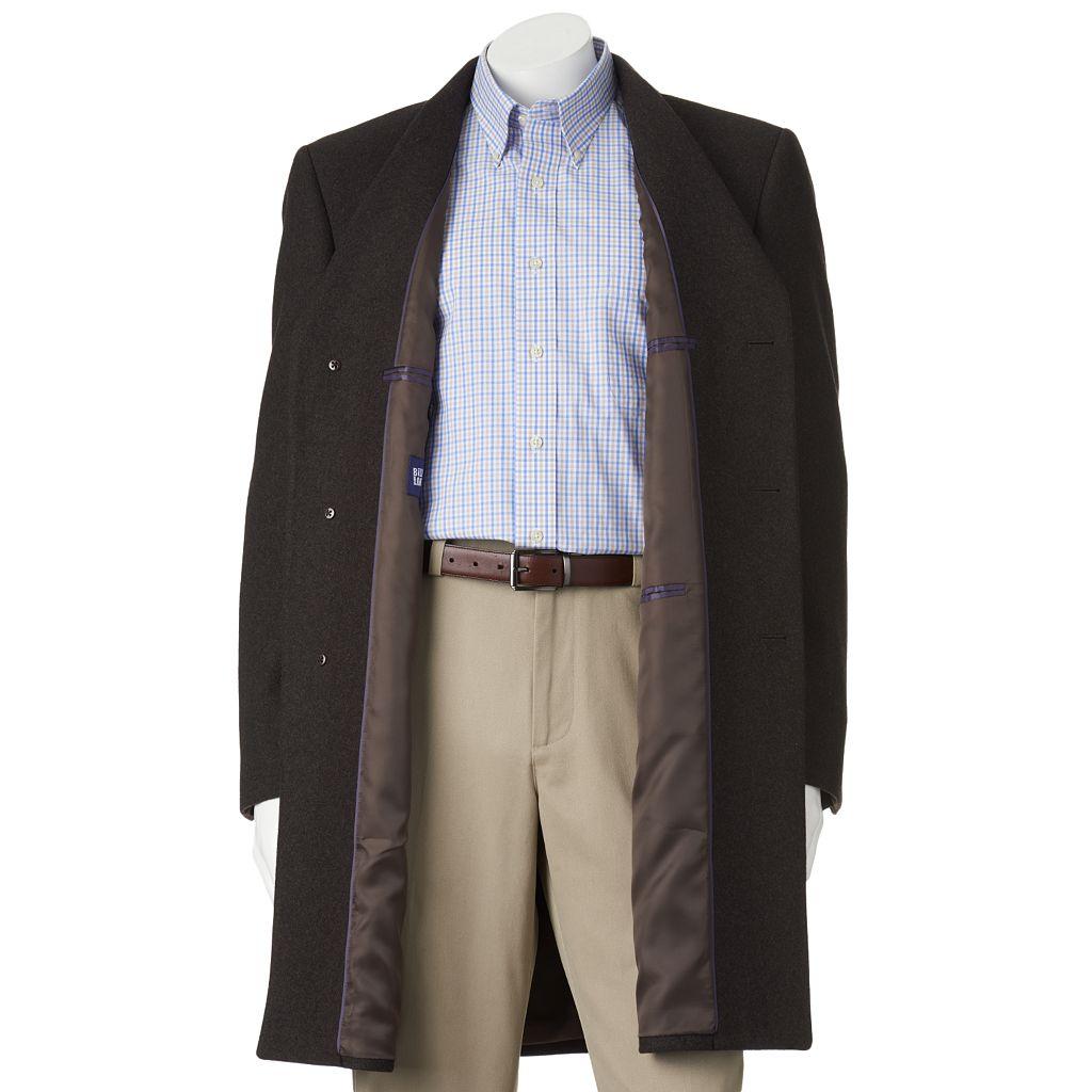 Men's Billy London 38-in. Wool-Blend Overcoat