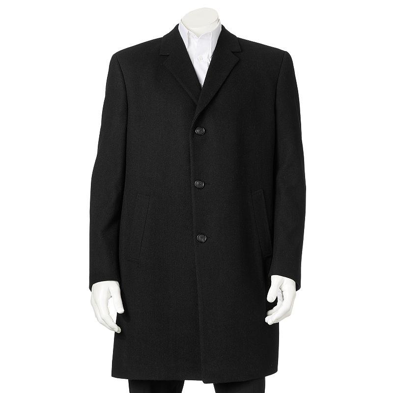 Billy London 38-in. Wool-Blend Overcoat - Men