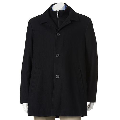 Billy London Slim-Fit 34-in. Wool-Blend Car Coat