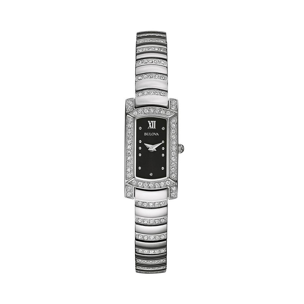 Bulova Women's Crystal Stainless Steel Watch - 96L202