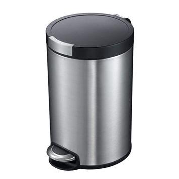 EKO Artistic 5-Liter Hands-Free Round Trash Can