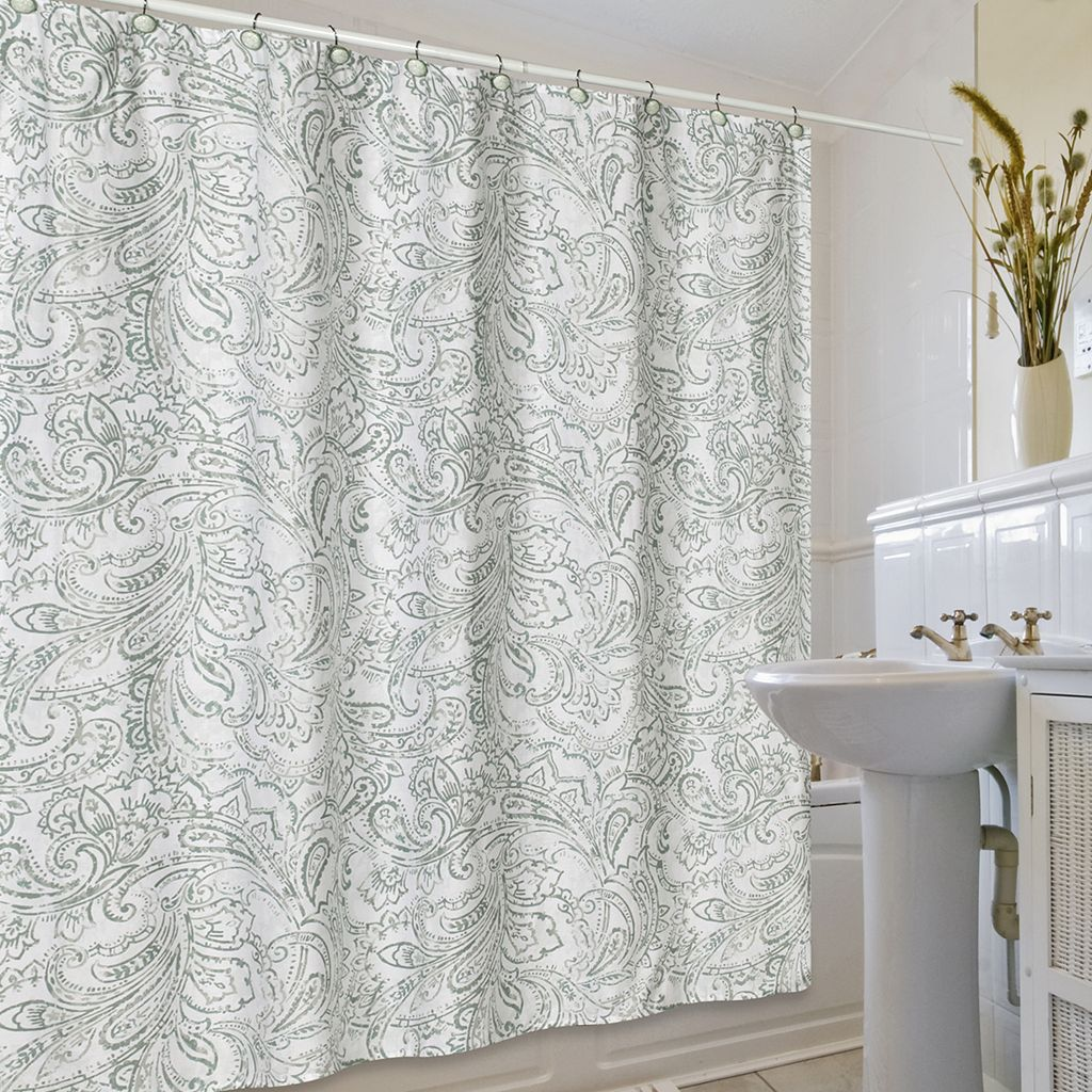 Jennifer Adams Beaumont Fabric Shower Curtain