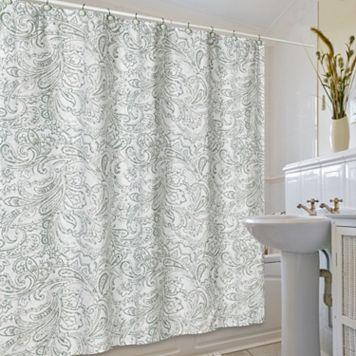 Jennifer Adams Beaumont Fabric Shower Curtain