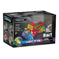 Laser Pegs 8-in-1 Truck Light-Up Construction Set