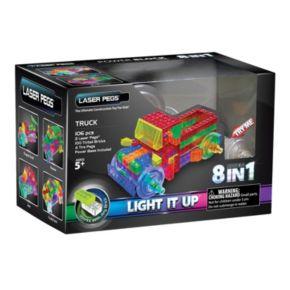 Laser Pegs 8-in-1 Truck Light-Up Construction Set