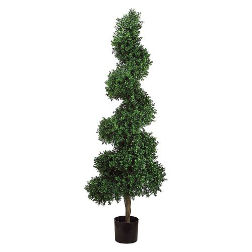 5.5-ft. Artificial Boxwood Topiary Tree