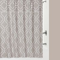 Jennifer Adams Chainlink Fabric Shower Curtain