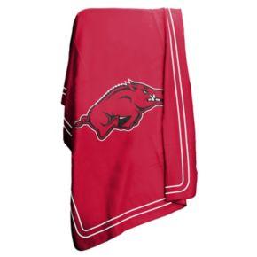Logo Brand Arkansas Razorbacks Classic Fleece Blanket