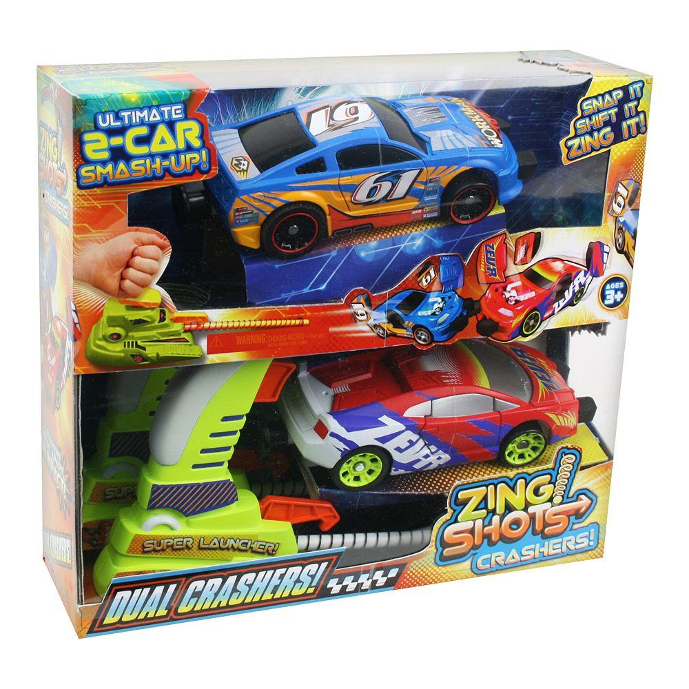 Zing Shots Dual Crashers Cars