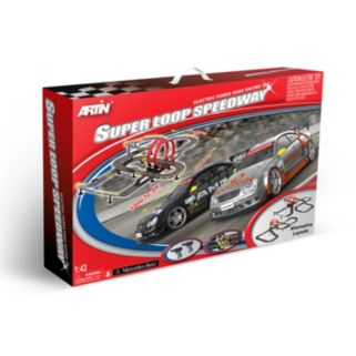 Artin 1:43 Scale Super Loop Speedway Slot Car Racing Set