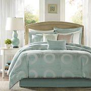 Madison Park Mason 7 pc Jacquard Comforter Set