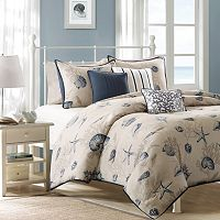 Madison Park Nantucket 6 pc Duvet Cover Set