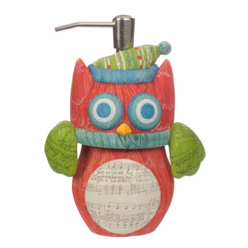 Holiday Owls Soap Pump