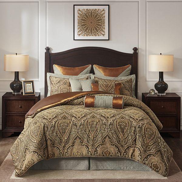 Hampton Hill Canovia Springs Comforter Set, Kohls Queen Bedding Set