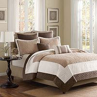 Madison Park Danville 7 pc Quilted Coverlet Set