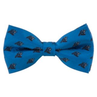 Carolina Panthers Repeat Woven Bow Tie