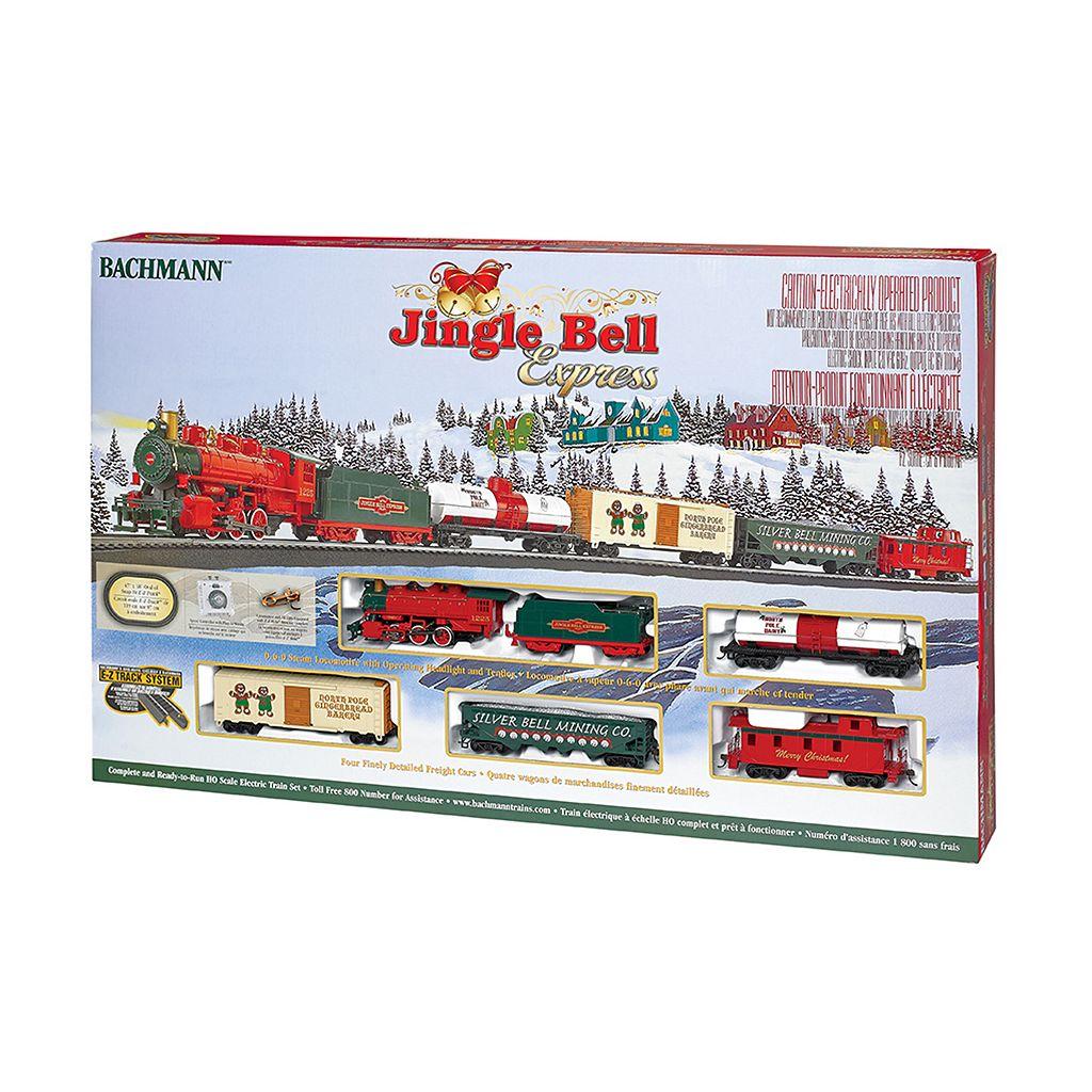 Bachmann Jingle Bell Express HO Scale Electric Train Set