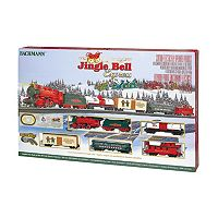 Bachmann Jingle Bell Express HO Scale Electric Train Set