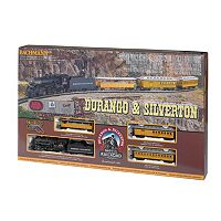 Bachmann Durango & Silverton HO Scale Electric Train Set
