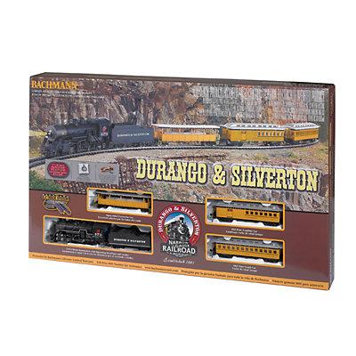 Bachmann Durango & Silverton HO Scale Electric Train Set