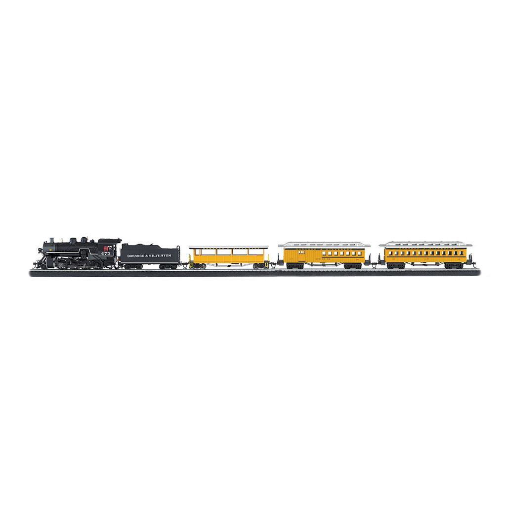 Bachmann Durango and Silverton HO Scale Electric Train Set