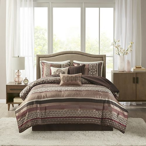 Madison Park Dartmouth 7 Pc Comforter Set
